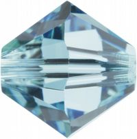 6mm SWAROVSKI® ELEMENTS Aqua Xilion Beads - 25 crystals for jewellery making, beadwork and craft